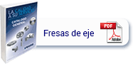 catálogo fresas de eje