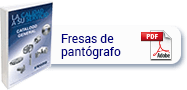 catálogo fresas de pantógrafo